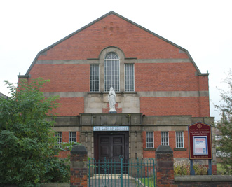 LEEDS, Our Lady of Lourdes_ext 1