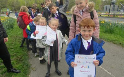 School's Sponsored Walk for the Good Shepherd Appeal