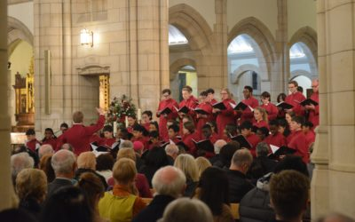 Friends of Cathedral Music gives £30,000 endowment to support teenagers at Leeds Cathedral