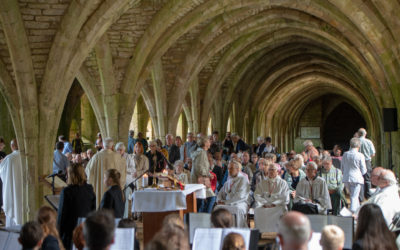 Fountains Abbey remembers Fr Angelo