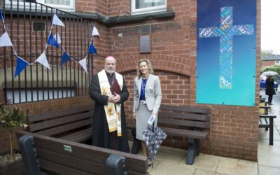 New Peace Garden Blessed by Bishop Marcus