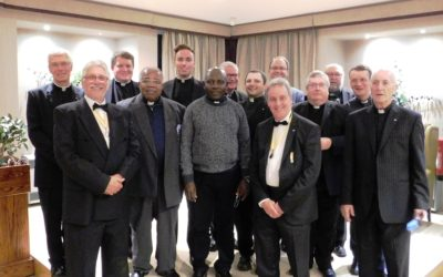 Leeds Catenians Host Local Clergy at Annual Dinner