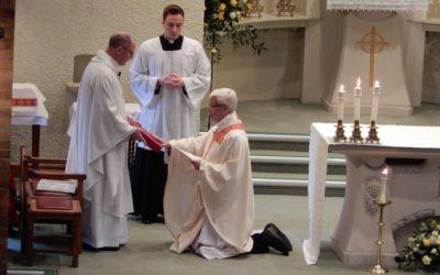 Induction at St John Mary Vianney Parish