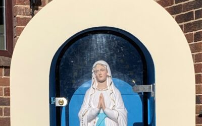 Our Lady of Bramley – A Parish Statue Lovingly Restored