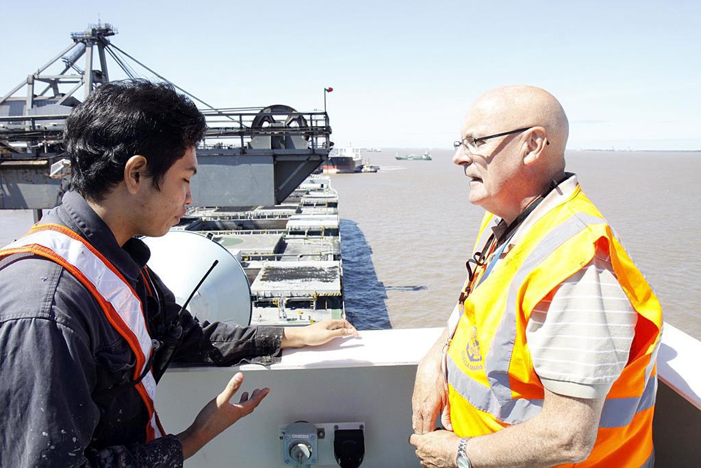 Fr Colum Kelly, the Seafarers' Chaplain, gets 5 Stars on Amazon!