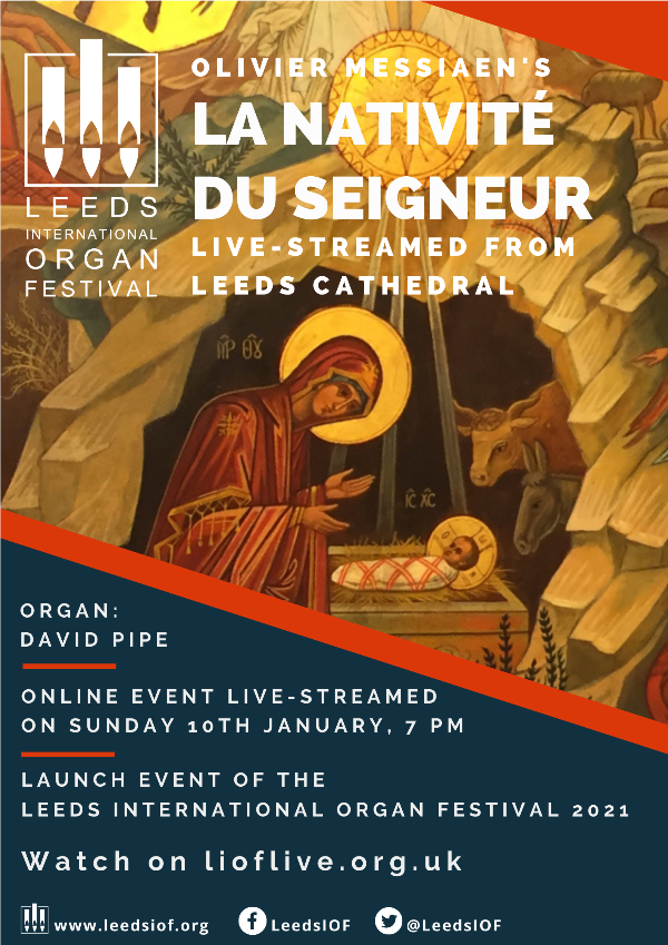 Cathedral Launch of 2021 Leeds International Organ Festival