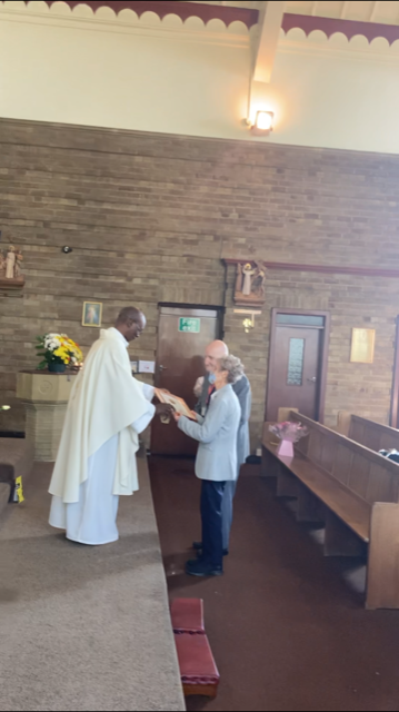 Bradford Parishioners Honoured with Diocesan Gold Medals