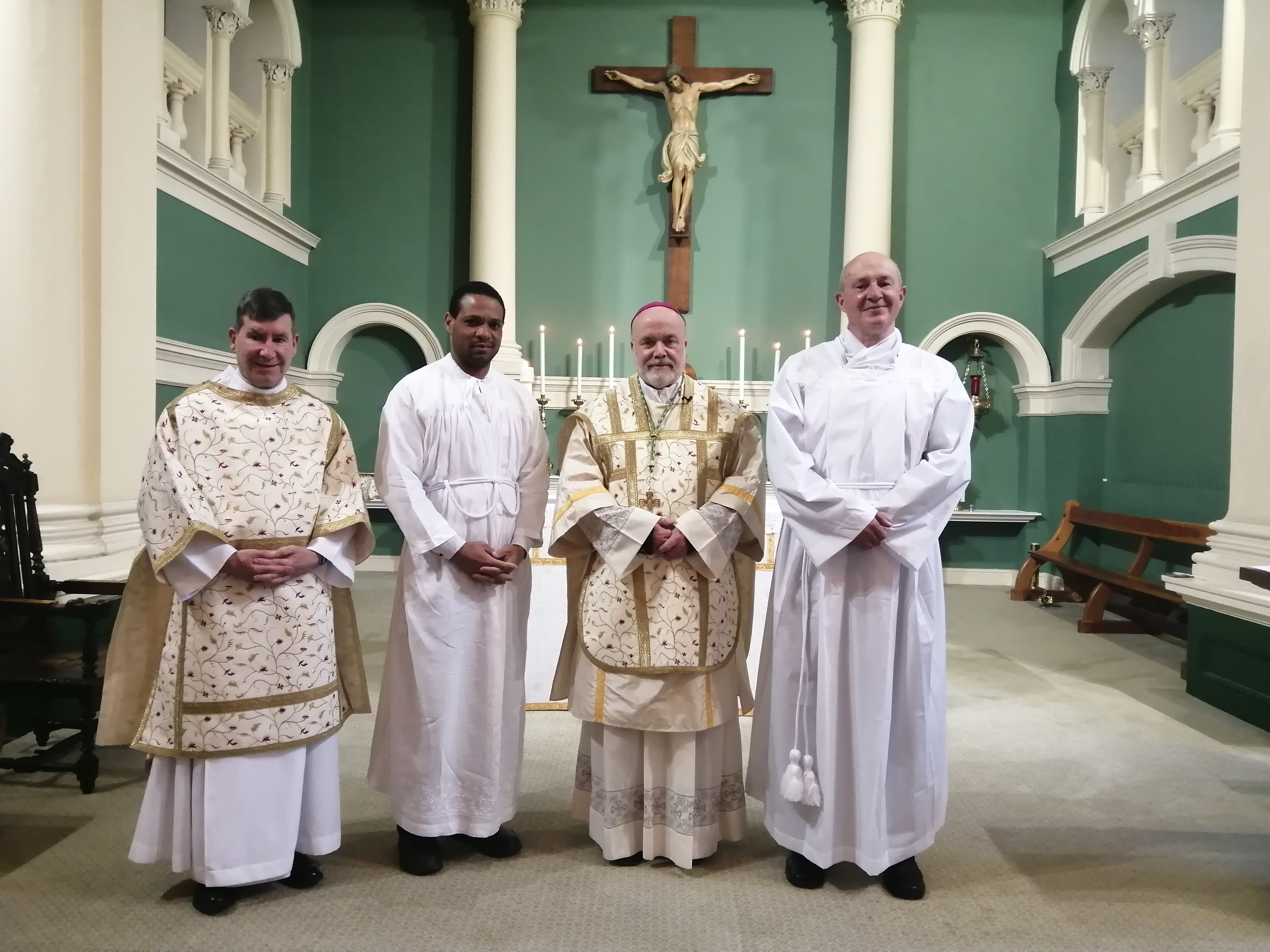 Bishop Marcus Institutes Two Acolytes in Preparation for the Diaconate