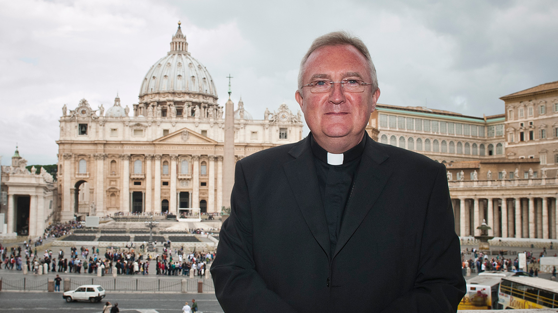 Pope Francis appoints Archbishop Roche as Prefect of the Congregation for Divine Worship