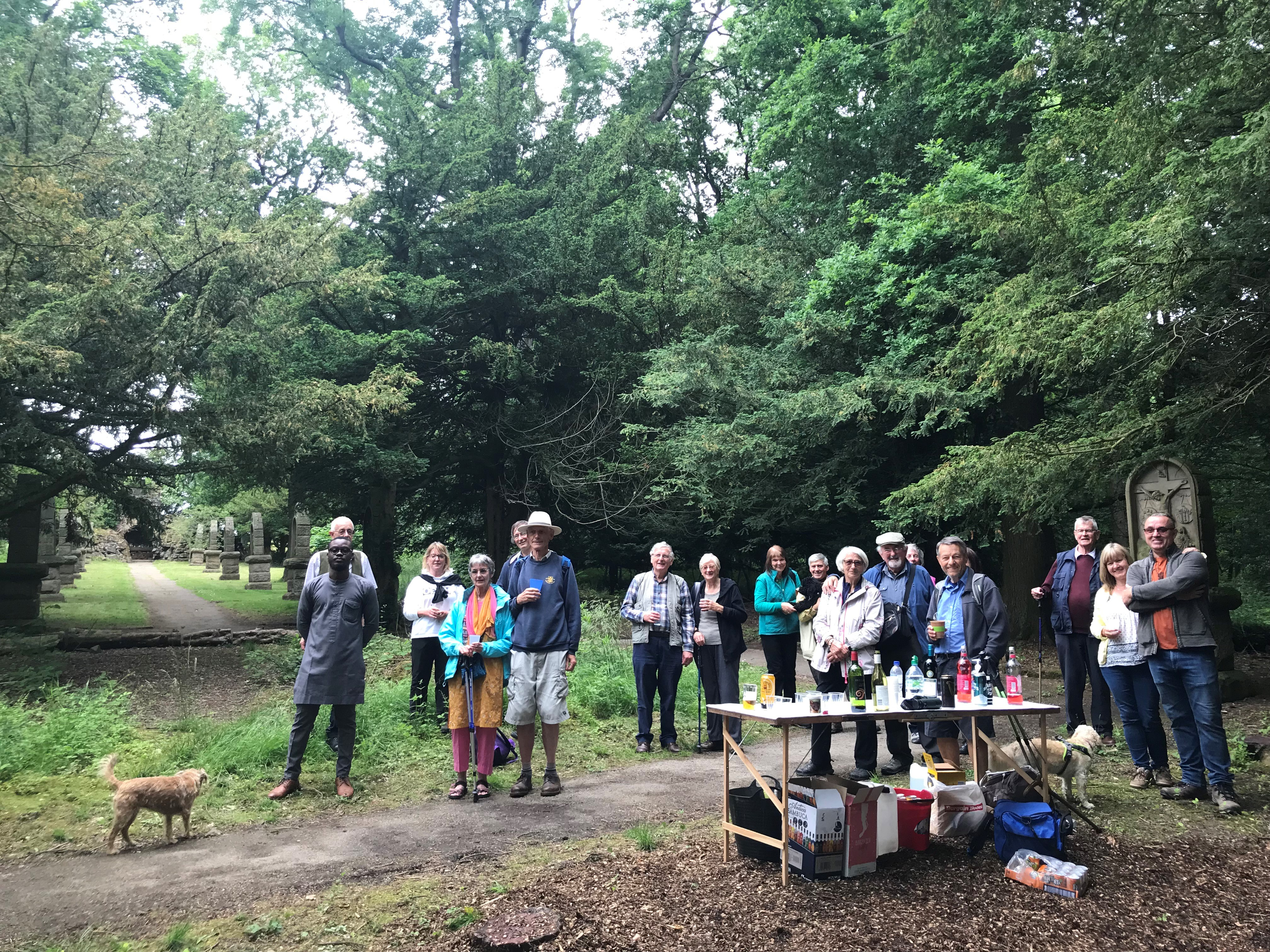 Well-attended Laudato Si' Mini-Pilgrimage at Myddelton!